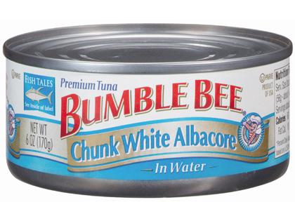 A can of Bumble Bee tuna fish - File _ Photo_ AP_70081