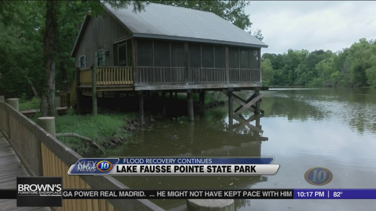 Lake Fausse Pointe State Park Continues To Recover From