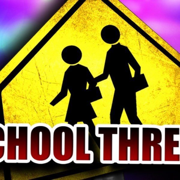 generic school threat graphic