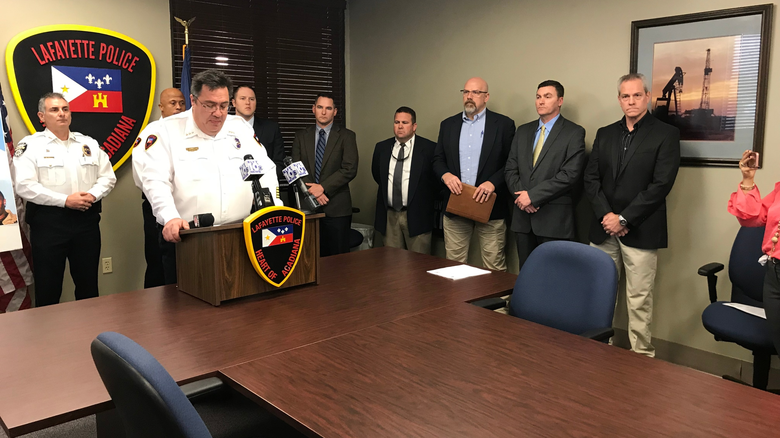 Two suspects arrested in connected Lafayette and Broussard murders