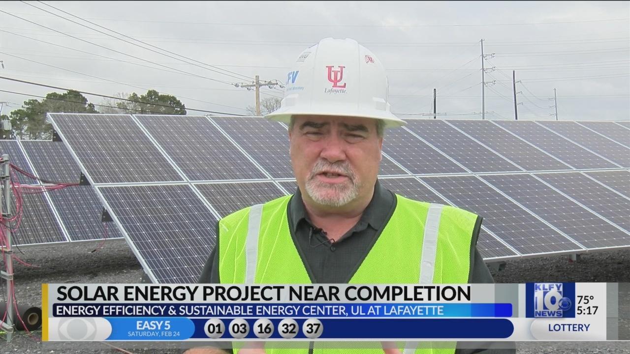 UL solar panel project