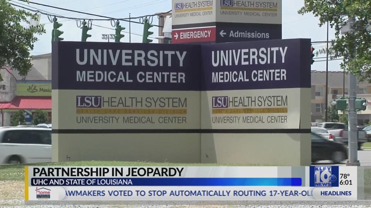 University Hospital and Clinics partnership in jeopardy, LGH