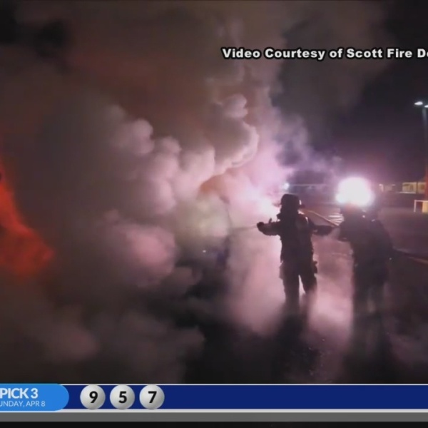 Scott vehicle fire