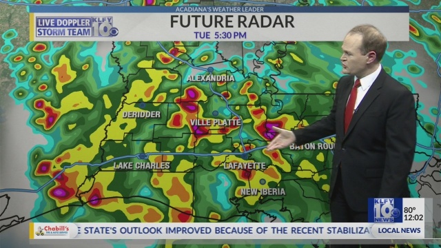 6 A M  UPDATE: Heavy rain and flash flooding risk in