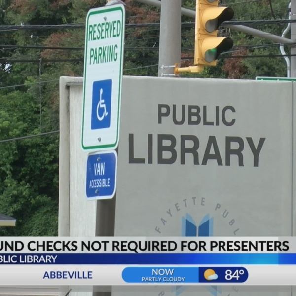 Dial Dalfred: Background checks not required for presenters at Lafayette Public Library