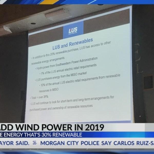 LUS will begin generating wind power in 2019