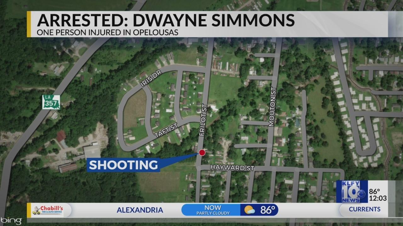 Arrest in Opelousas shooting