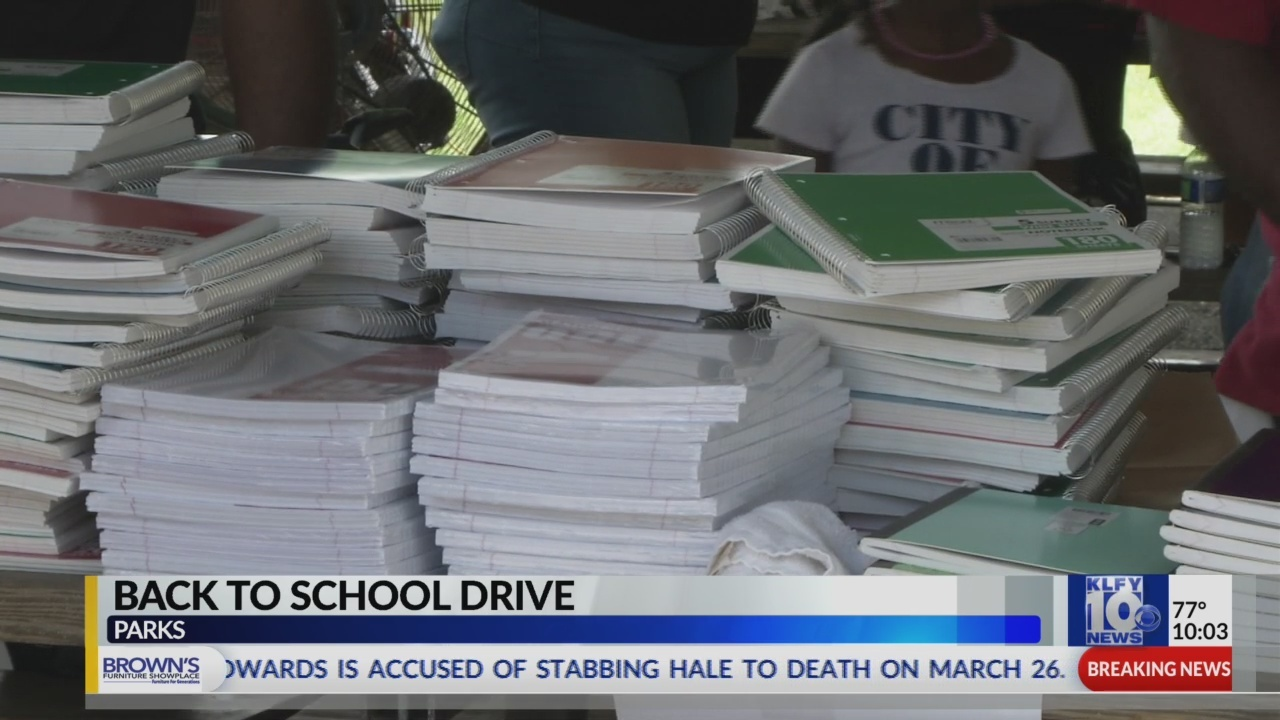 Parks Back to School Drive