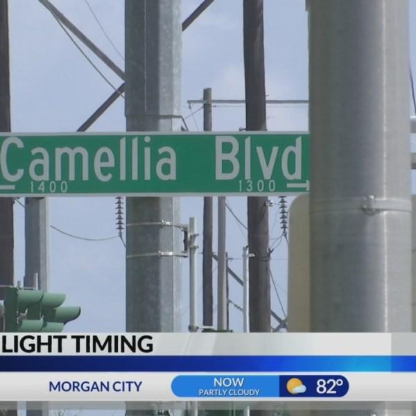 Traffic light timing