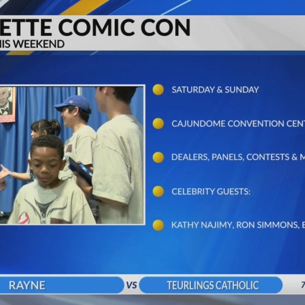 Lafayette Comic Con returns to Cajundome Convetion Center this weekend