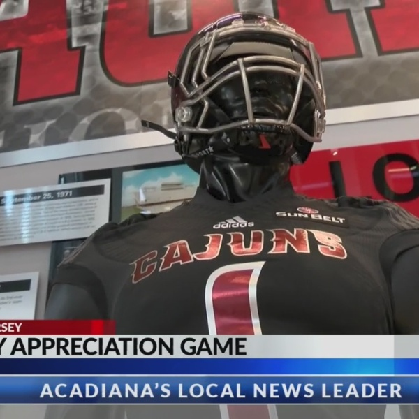 Beyond the Jersey: Cajun football will honor military on Saturday