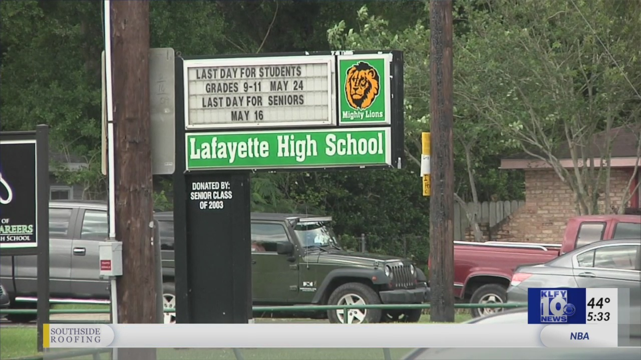 Classes canceled at Lafayette High School today due to building heating issue