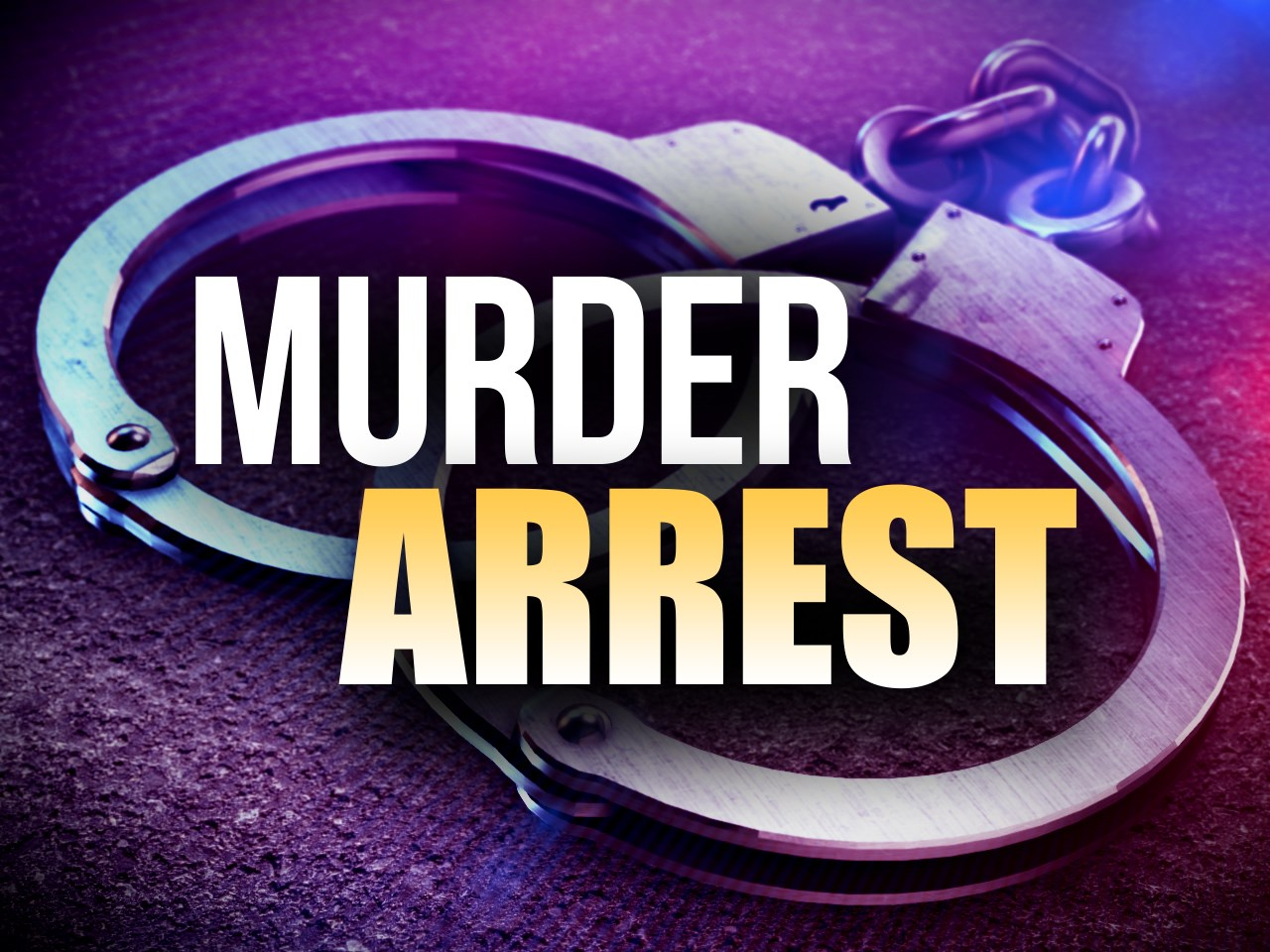 Murder Arrest Graphic