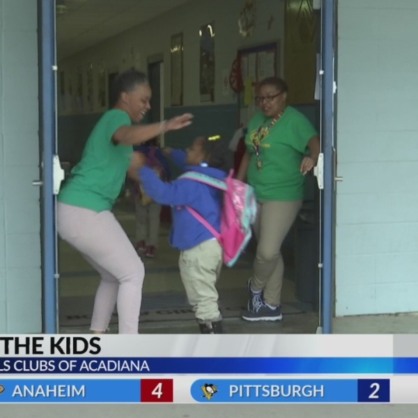 Father & Son reflect on impact of after school services at Boys & Girls Clubs of Acadiana
