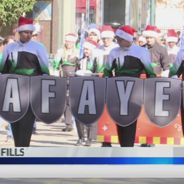 Sonic Christmas Parade rolls through Lafayette