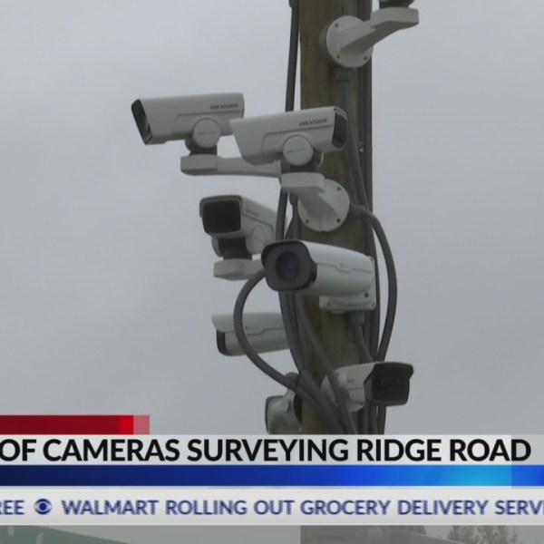 Dozens of cameras surveying Ridge Road