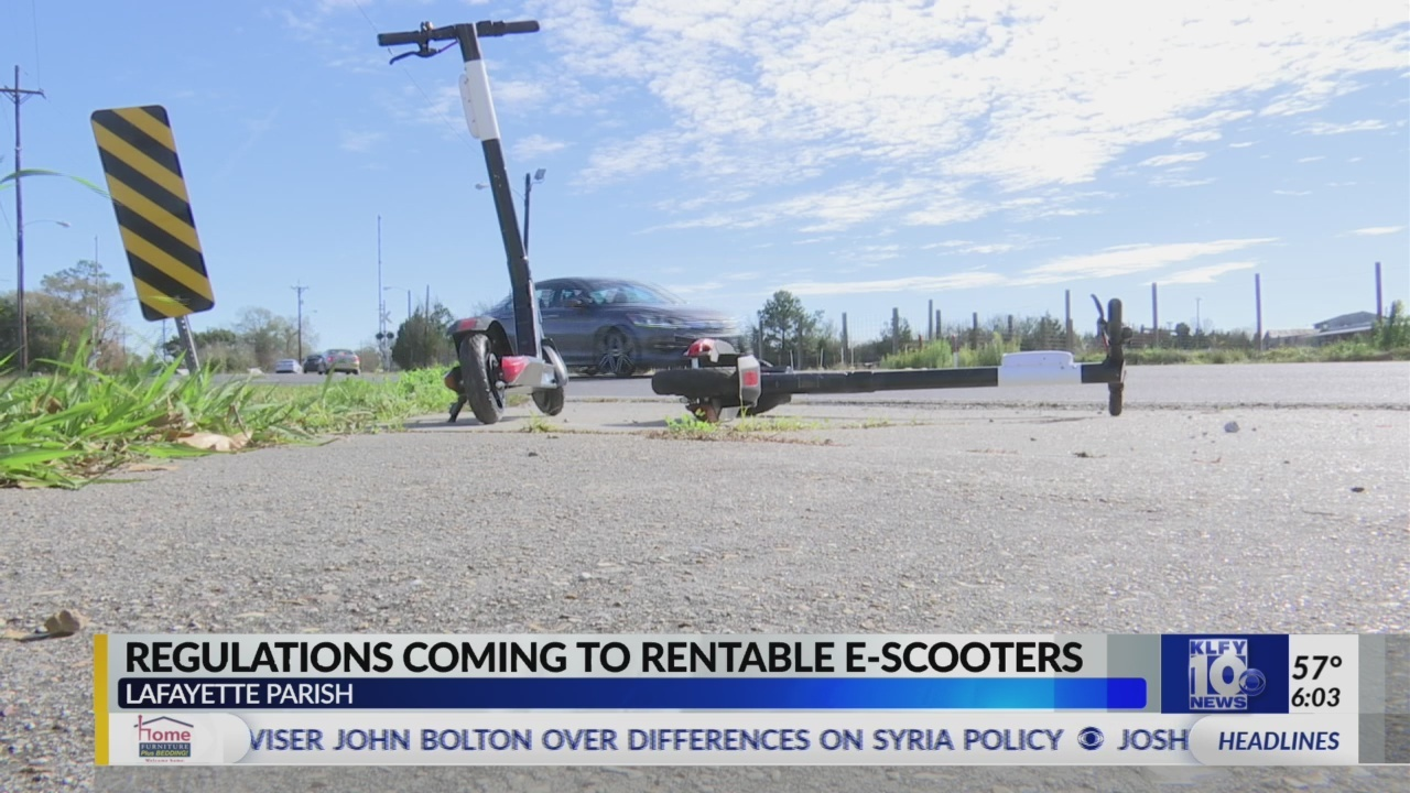 Regulations coming for ride-share scooters