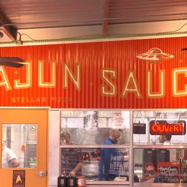 Acadiana Eats: Cajun Saucer Pizza at Bayou Teche Brewing