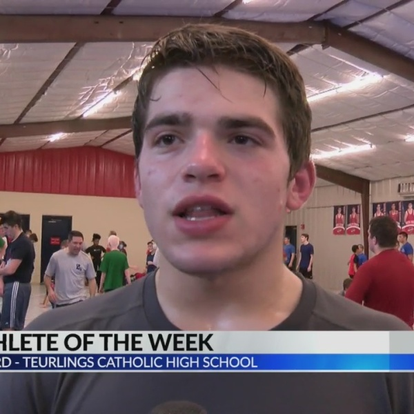 KLFY Athlete of the Week: Teurlings High Wrestler David Bernard