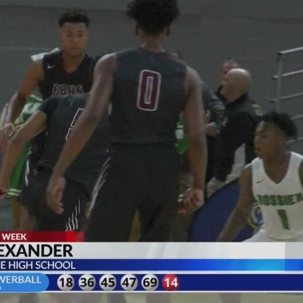 KLFY Athlete of the Week: Seth Alexander, Breaux Bridge High