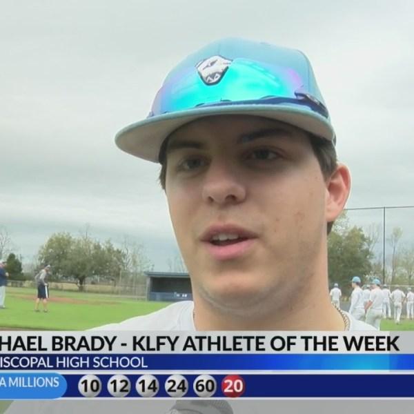 KLFY Athlete of the week, Sean michael Brady