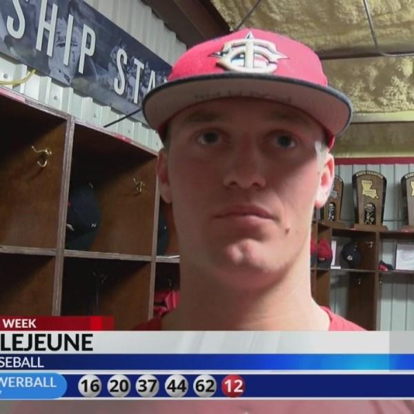 KLFy Athlete of the Week: Teurlings High pitcher Peyton LeJeune