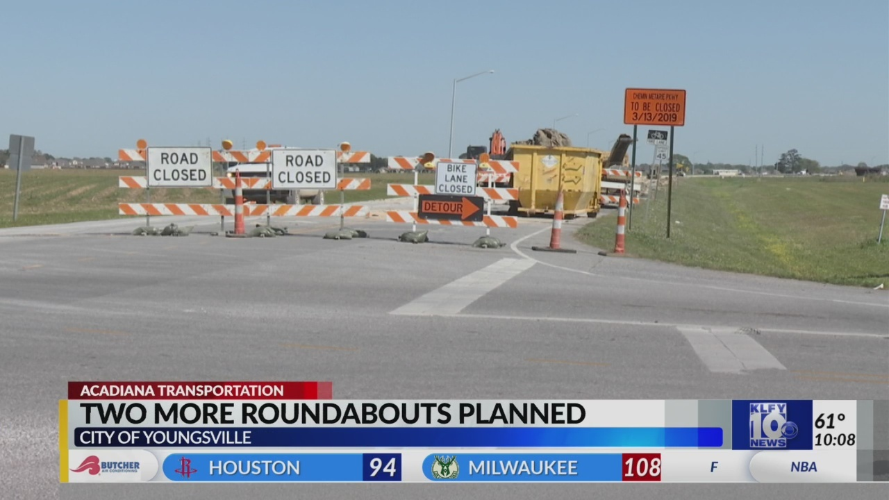 Two more roundabouts coming to Youngsville