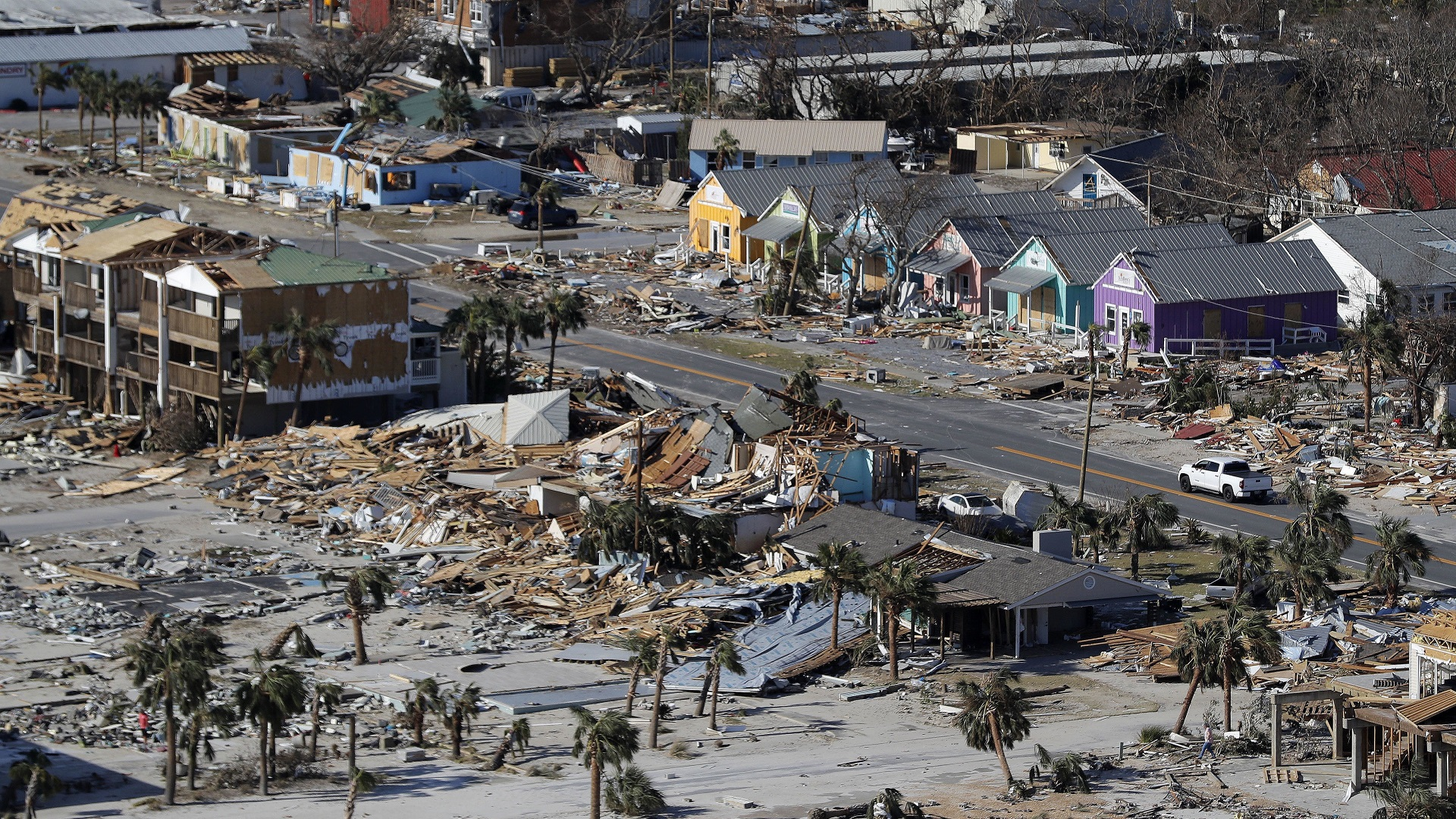 Mexico Beach Hurricane Michael-846652698-846652698