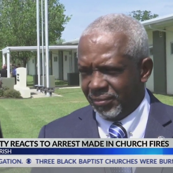 Community reacts to arson arrest