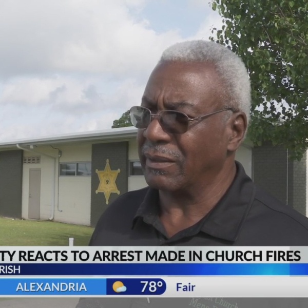 Community reacts to church arrest