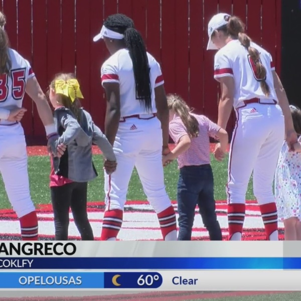 RAGIN CAJUN SOFTBALL