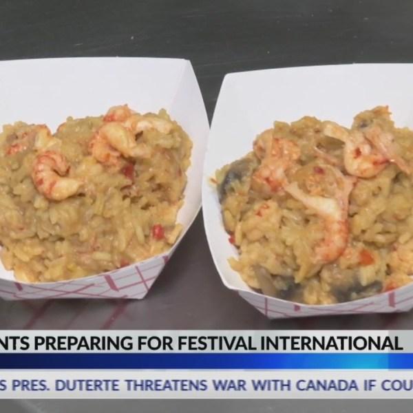 Restaurants prepare for Festival International