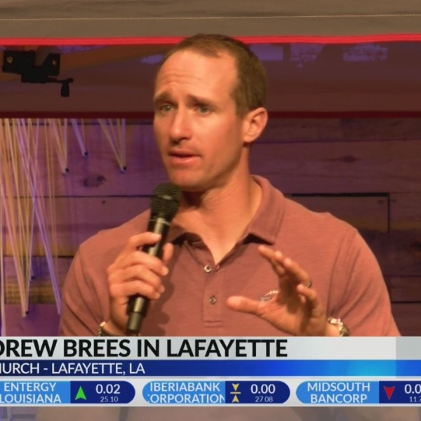 Brees on Zion and A.D.