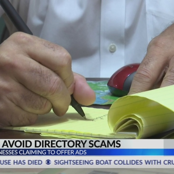 How to Avoid Directory Scams