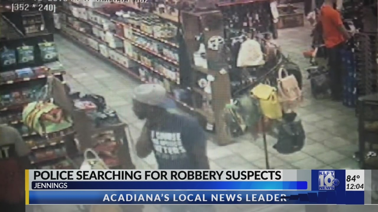Jennings robbery suspects sought