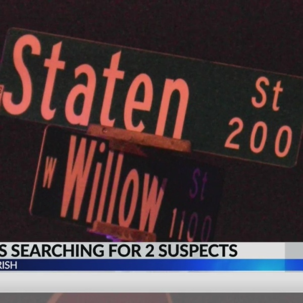 LPSO searches for suspects