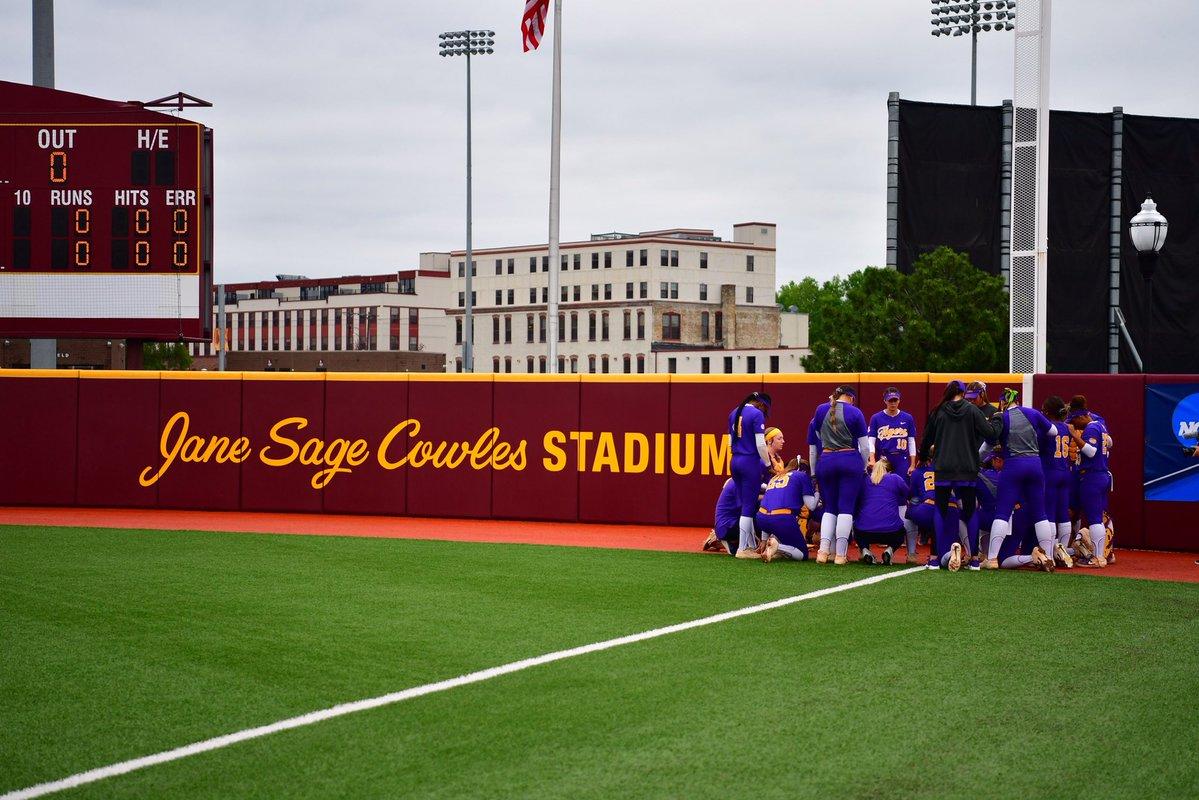 LSU Softball at Minnesota Game 1