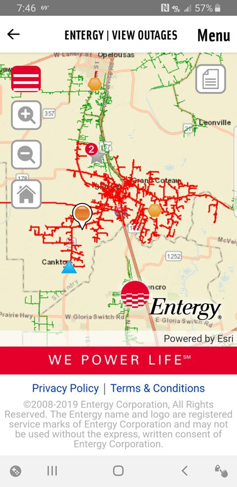 UPDATE: Entergy customers in St  Landry Parish area may