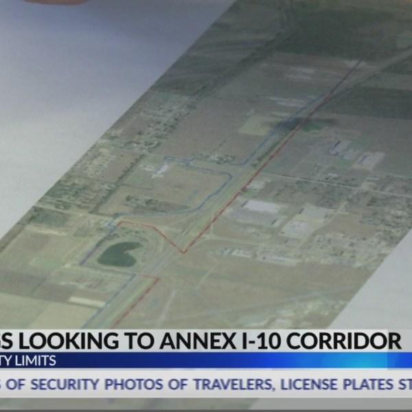 I-10 corridor annexation