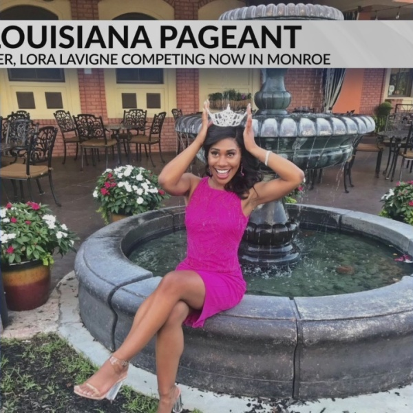 Lora Lavigne Competing in Miss Louisiana Pageant