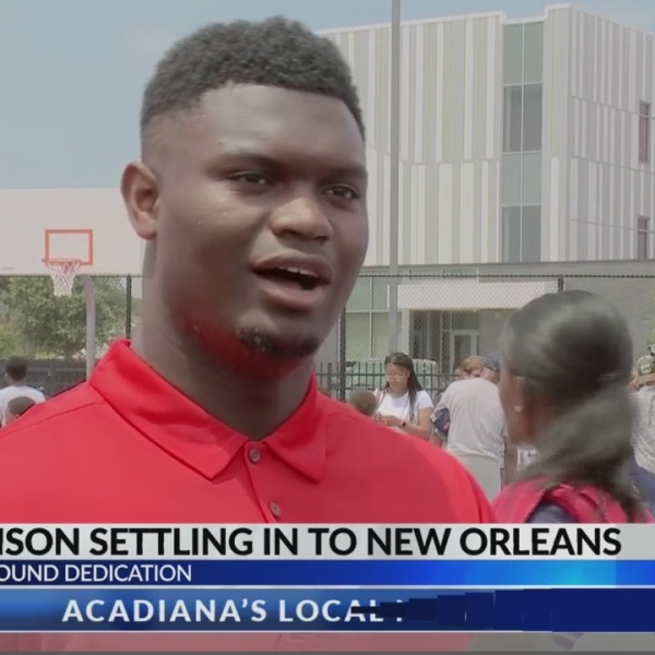 "Pelicans No. 1 draft pick Zion Williamson calls New Orleans ""home"""