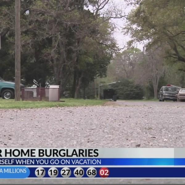 Summer home burglaries