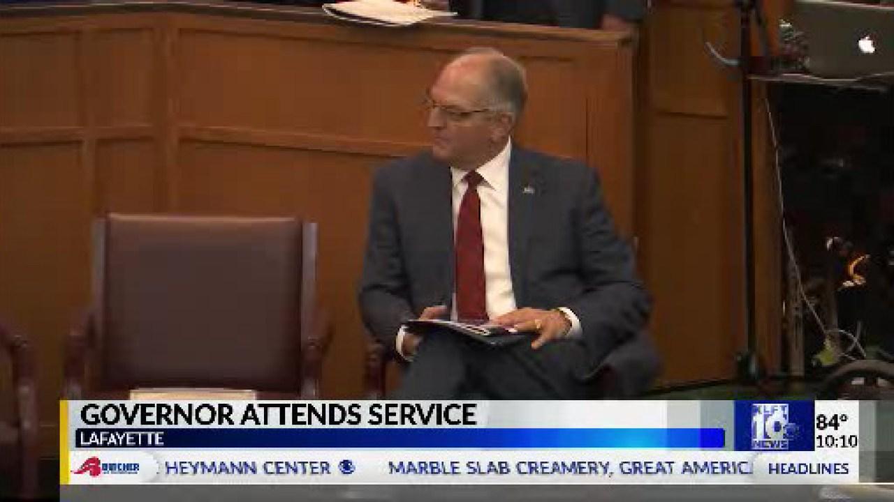 Governor John Bel Edwards Attends