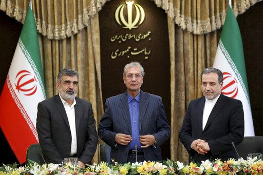 Behrouz Kamalvandi, Ali Rabiei, Abbas Araghchi
