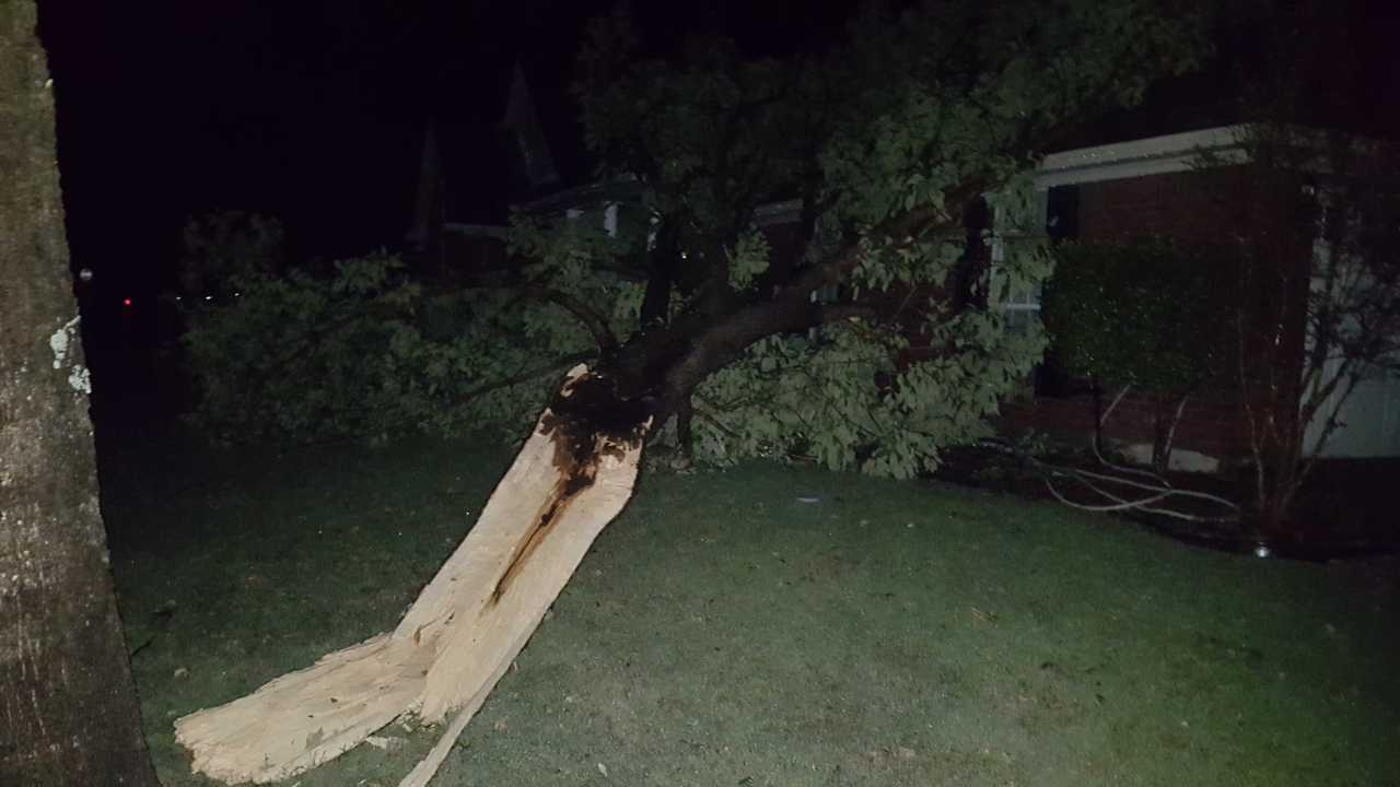 Sunday Storms Leave Damage In Bossier Parish Klfy