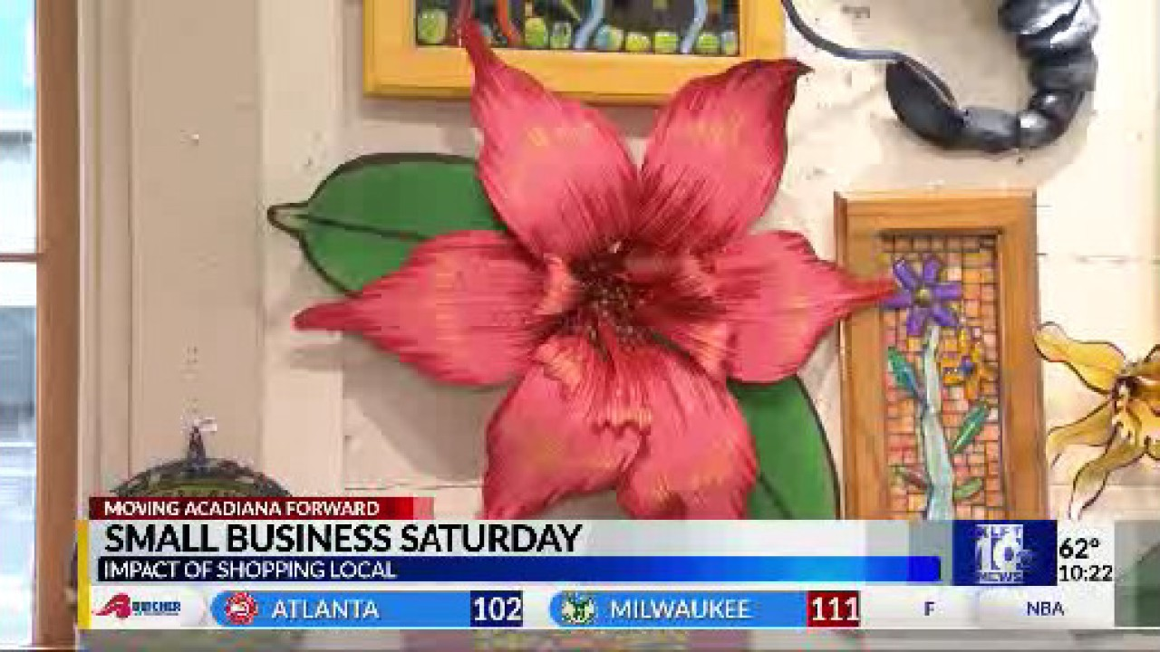 Businesses in Acadiana gear up for Small Business Saturday