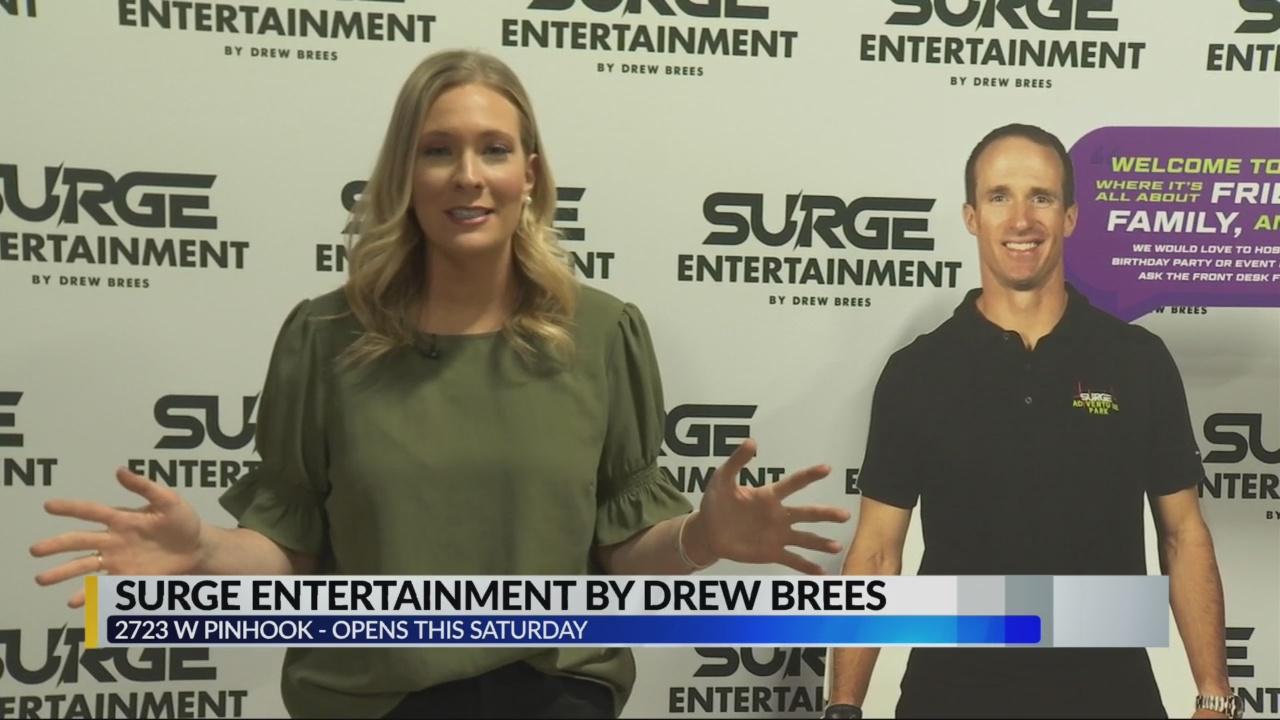 Tour Of Drew Brees Surge Entertainment Klfy