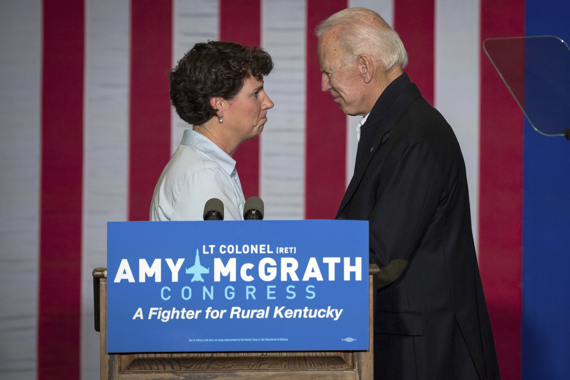 Joe Biden, Amy McGrath