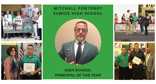 Eunice La Halloween Events 2020 Eunice High principal 'Mitch' Fontenot selected as a Louisiana