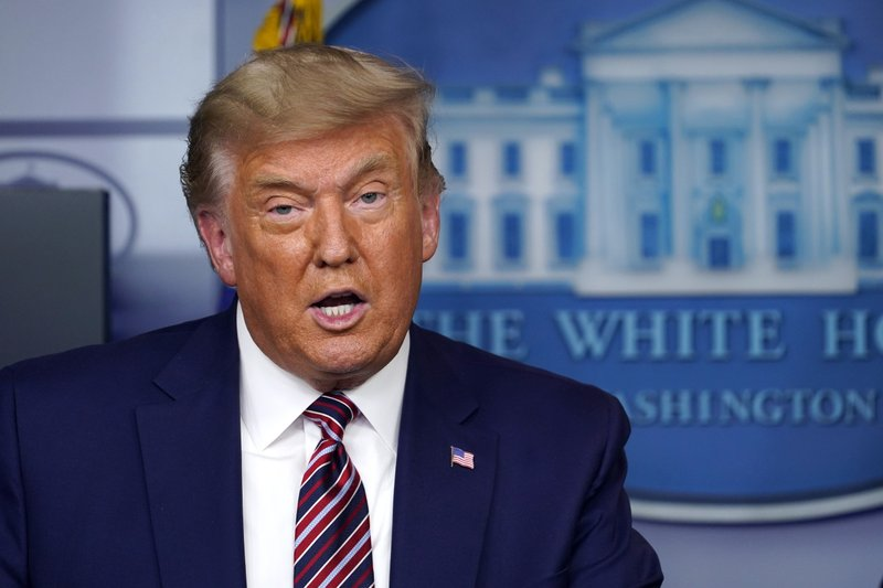 President Donald Trump speaks during a news conference in the briefing room at the White House in Washington, Friday, Nov. 20, 2020. (AP Photo/Susan Walsh)